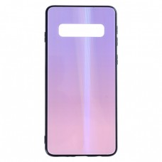 Калъф гръб стъклен блестящ bSmart Shiny Glass Case - Samsung G975F Galaxy S10 Plus, Перлено виолетов