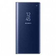 Калъф тефтер флип bSmart Clear View неактивен - Samsung N975F Galaxy Note10 Plus, Син