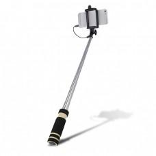 Селфи стик Setty с кабел mini, Черен