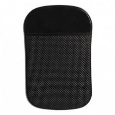 Силиконова поставка за телефон за кола Forever Anti-slip 14x9 см, Черна