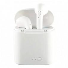 Слушалки Bluetooth безжични bSmart i7S за iPhone, Бели
