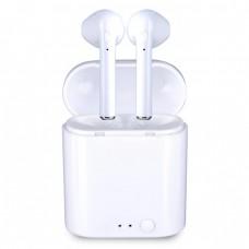 Слушалки Bluetooth безжични i7S Mini за iPhone, Бели