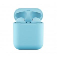 Слушалки Bluetooth безжични inPods 12 за iPhone, Светлосини