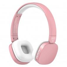 Слушалки големи XO BE23 Bluetooth, Розово-златни