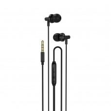 Слушалки HF 3.5 mm XO EP35, Черни