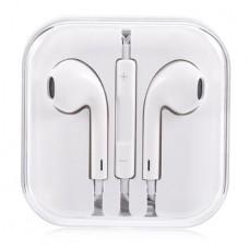 Слушалки HF за iPhone 3.5 mm в кутия, Бели