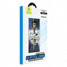 Стъклен протектор за дисплей Blueo 5D Full UV Glue с лампа за Samsung N970F Galaxy Note10, Прозрачен