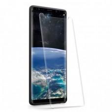 Стъклен протектор за дисплей MBX 5D UV Full Glue Edge с лампа за Samsung G950 Galaxy S8, Прозрачен