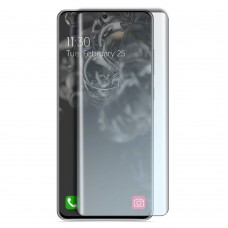 Стъклен протектор за дисплей MBX 5D UV Full Glue Edge с лампа за Samsung G985F Galaxy S20 Plus, Прозрачен