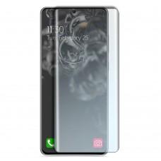 Стъклен протектор за дисплей MBX 5D UV Full Glue Edge с лампа за Samsung G988B Galaxy S20 Ultra, Прозрачен