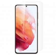 Стъклен протектор за дисплей MBX 5D UV Full Glue Edge с лампа за Samsung G991B Galaxy S21, Прозрачен