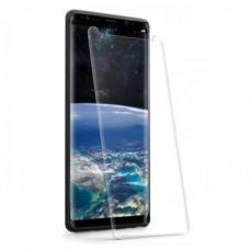 Стъклен протектор за дисплей MBX 5D UV Full Glue Edge с лампа за Samsung N970F Galaxy Note10, Прозрачен