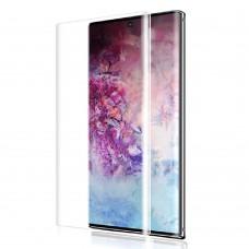 Стъклен протектор за дисплей MBX 5D UV Full Glue Edge с лампа за Samsung N986B Galaxy Note20 Ultra, Прозрачен