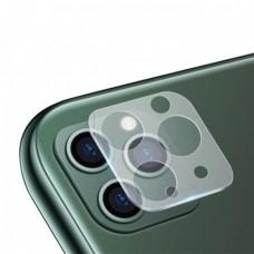 Стъклен протектор за задна камера 5D Full MBX за Apple iPhone 11 Pro, Pro Max, Прозрачен