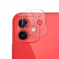 Стъклен протектор за задна камера 5D Full MBX за Apple iPhone 12 (6.1), Прозрачен