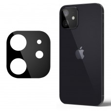 Стъклен протектор за задна камера 5D Full MBX за Apple iPhone 12 mini (5.4), Черен