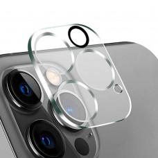 Стъклен протектор за задна камера 5D Full MBX за Apple iPhone 12 Pro (6.1), Прозрачен