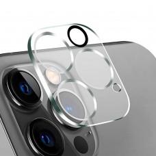 Стъклен протектор за задна камера 5D Full MBX за Apple iPhone 12 Pro Max (6.7), Прозрачен