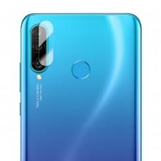 Стъклен протектор за задна камера MBX за Huawei P30 Lite, Прозрачен