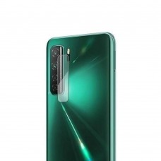 Стъклен протектор за задна камера MBX за Huawei P40 lite 5G, Прозрачен