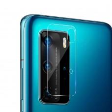 Стъклен протектор за задна камера MBX за Huawei P40 Pro Plus, Прозрачен