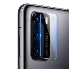 Стъклен протектор за задна камера MBX за Huawei P40 Pro, Прозрачен