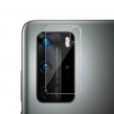 Стъклен протектор за задна камера MBX за Huawei P40, Прозрачен