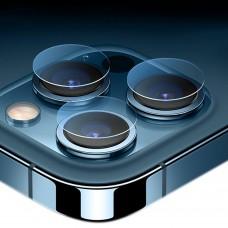 Стъклен протектор за задна камера MBX за iPhone 12 Pro Max (6.7), Прозрачен
