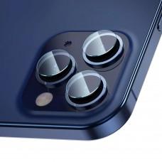 Стъклен протектор за задна камера MBX за iPhone 12 Pro, Прозрачен