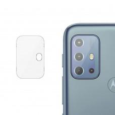 Стъклен протектор за задна камера MBX за Motorola Moto G20, Прозрачен