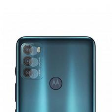 Стъклен протектор за задна камера MBX за Motorola Moto G50 5G, Прозрачен