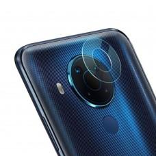 Стъклен протектор за задна камера MBX за Nokia 5.4, Прозрачен