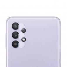 Стъклен протектор за задна камера MBX за Samsung A325F Galaxy A32 4G, Прозрачен