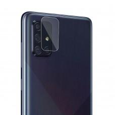 Стъклен протектор за задна камера MBX за Samsung A415F Galaxy A41, Прозрачен