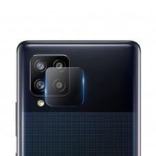 Стъклен протектор за задна камера MBX за Samsung A426B Galaxy A42 5G, Прозрачен
