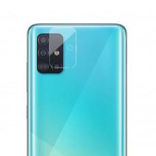 Стъклен протектор за задна камера MBX за Samsung A515F Galaxy A51, Прозрачен