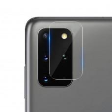 Стъклен протектор за задна камера MBX за Samsung G985F Galaxy S20 Plus, Прозрачен