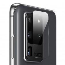 Стъклен протектор за задна камера MBX за Samsung G988B Galaxy S20 Ultra, Прозрачен