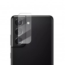 Стъклен протектор за задна камера MBX за Samsung G991B Galaxy S21, Прозрачен