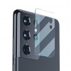 Стъклен протектор за задна камера MBX за Samsung G998B Galaxy S21 Ultra, Прозрачен