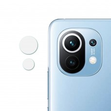 Стъклен протектор за задна камера MBX за Xiaomi Mi 11 5G, Прозрачен