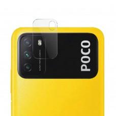 Стъклен протектор за задна камера MBX за Xiaomi Poco M3, Прозрачен