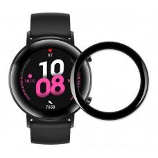 Удароустойчив протектор силиконов за часовник bSmart PET с черен кант за Honor MagicWatch 2 42mm, Прозрачен / Черен