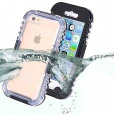 Водоустойчив универсален калъф за телефон iPhone 6/6s/7, Черен